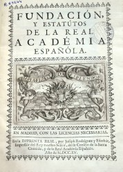 Portada Estatutos 1715